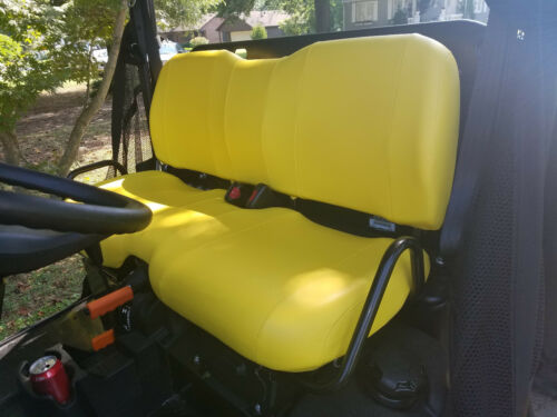 Colors John Deere Gator Bench Seat Covers XUV 825i  in YELLOW or 45