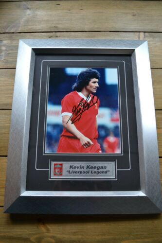Liverpool FC signed Kevin Keegan framed photo