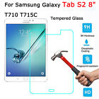"""Tempered Glass/Clear/Matte Screen Protector For Samsung Galaxy Tab S2 8.0"""" Lot"""