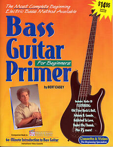 learn how to play bass guitar music book audio cd ebay. Black Bedroom Furniture Sets. Home Design Ideas