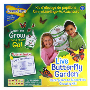 à Condition De Insect Lore Live Butterfly Garden Couver Kit-afficher Le Titre D'origine