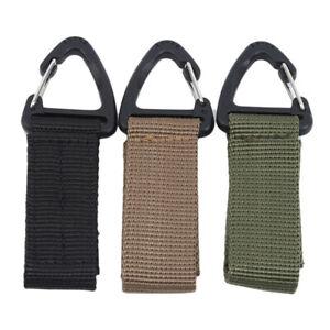 Key-Hook-Tactical-Molle-Hanging-Belt-Buckle-Carabiner-Webbing-Clip-Durable-TO
