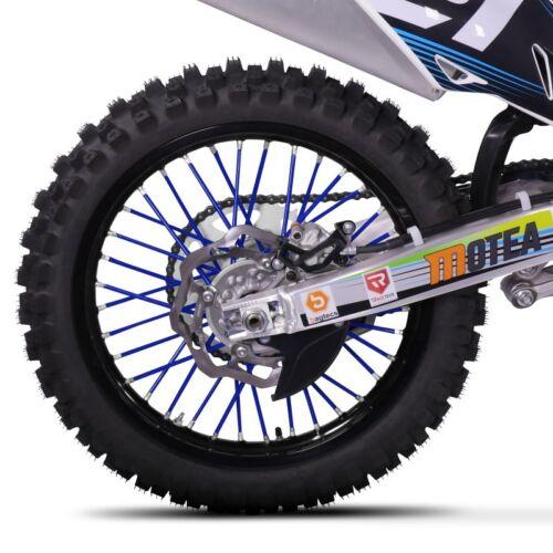 Speichen Cover Aprilia SX 125 Super Moto Motea SPX dunkelblau