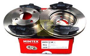 Mintex-Frein-Avant-Ensemble-Disques-Pads-FORD-ESCORT-039-91-039-95-V-VI-VII-Orion-III-MDK0004