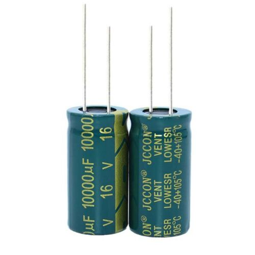 5PC 16V 10000uF High Frequency LOW ESR Radial Electrolytic Capacitors 16mmx30mm