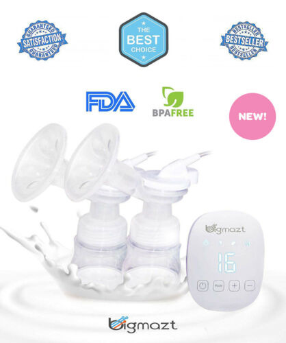 NEW SEALED Smartpump Double Electric Breast Feeding Pump Strong Suction Power