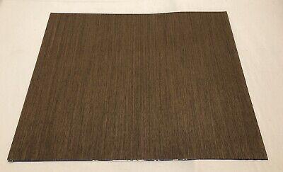 "4.5 Sq Ft Composite Wenge Wood Veneer 1//42 Thick 1 Sheet 23"" X 28.5"""
