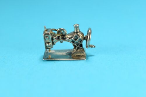 Sewing Machine sterling silver charm .925 x 1 Sew Machines charms SSLP2963