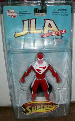 DC DIRECT JLA CLASSIFIED SERIES 3 SUPERMAN RED NEW IN PACKAGE #sw-1503