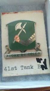 41st-Armor-Tank-Battalion-Pin-Crest-DI-DUI-MS-Meyer