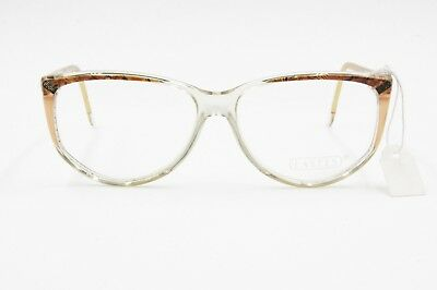 Delizioso Lastes Mod. M 186 C. 05 Clear Eyeglasses Frame With Colored Eyebrows, Nos