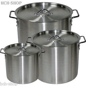 Aluminio camping olla de cocción olla olla gulaschtopf con tapa 8 12 30 LTR.  </span>