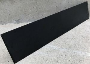 Black-Ebony-Wood-Sanded-Headplate-16X3-5X1-8-Overlays-Peg-Heads-Guitars-Banjos