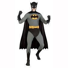 Classic Batman 2nd Skin Full Body Spandex Zentai Jumpsuit Adult Unitard Costume  sc 1 st  eBay & Batman 2nd Skin Adult Costume Medium Morph Suit Full Bodysuit DC ...