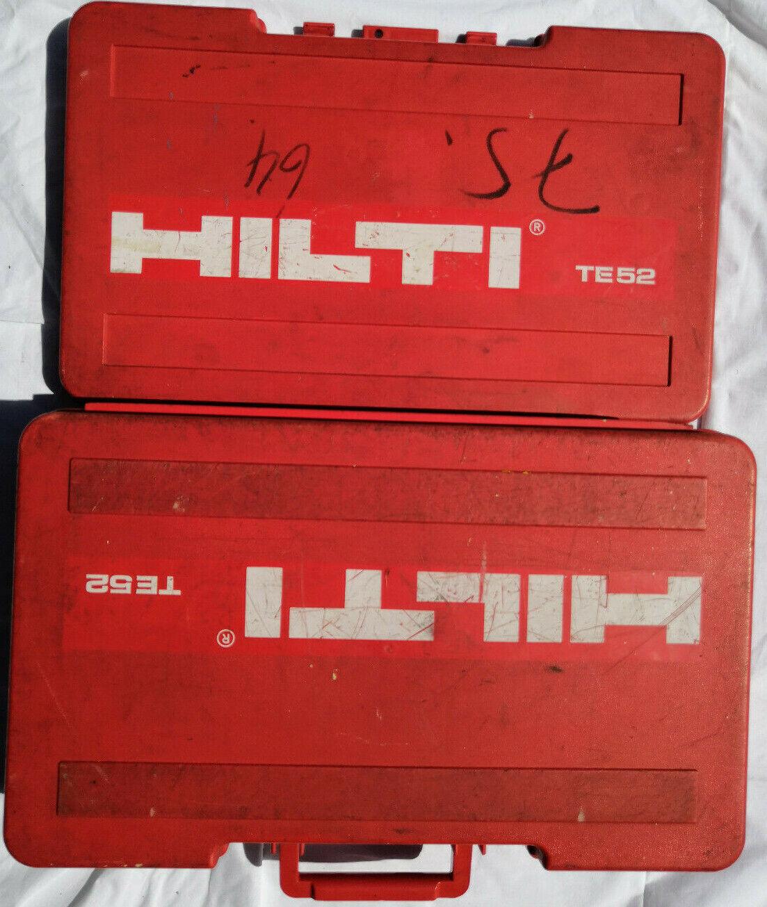 Hilti Leerkoffer TE 52 guter Zustand, Koffer TE52 auch TE42 von Kombihammer