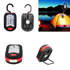 Outdoor 24+3 LED Emergency Tent Light Flashlight Magnet Hanging Hook Work Light