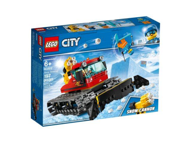 Lego City 60222 Gatto Delle Nevi - Nuovo / Conf. Orig.