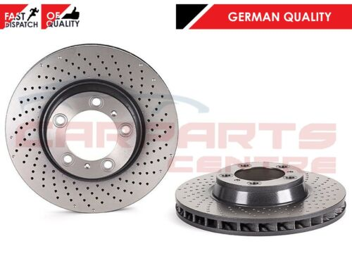 FOR PORSCHE 911 996 997 GT2 GT3 3.6 GERMAN QUALITY FRONT BRAKE DISCS 350mm