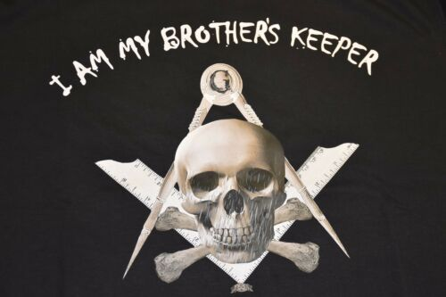 I am My Brothers Keeper Masonic T Shirt New Low Price £10.00