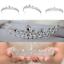 Bridal-Princess-Party-Crystal-Tiara-Wedding-Crown-Veil-Hair-Accessory-Headband thumbnail 3