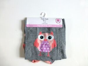 New A Great Variety Of Goods Honesty Baby Girl's Grey Cotton Rich Tights Owl Design Ages 12/18 &18/24 Months