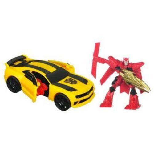 """Transformers velocità stelle Bumblebee /& Sentinel Prime 2/"""" Action Figure NUOVO//SIGILLATO"""
