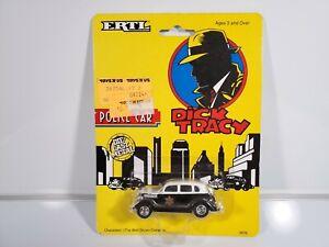 1990-ERTL-Walt-Disney-Dick-Tracy-Die-Cast-Police-Car-2676-1-64-Scale-HTF-New