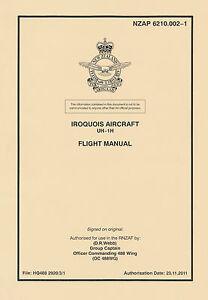 bell uh 1h iroquois flight manual royal new zealand air force nzap rh ebay com uh-1 manual pdf dcs uh 1 manual