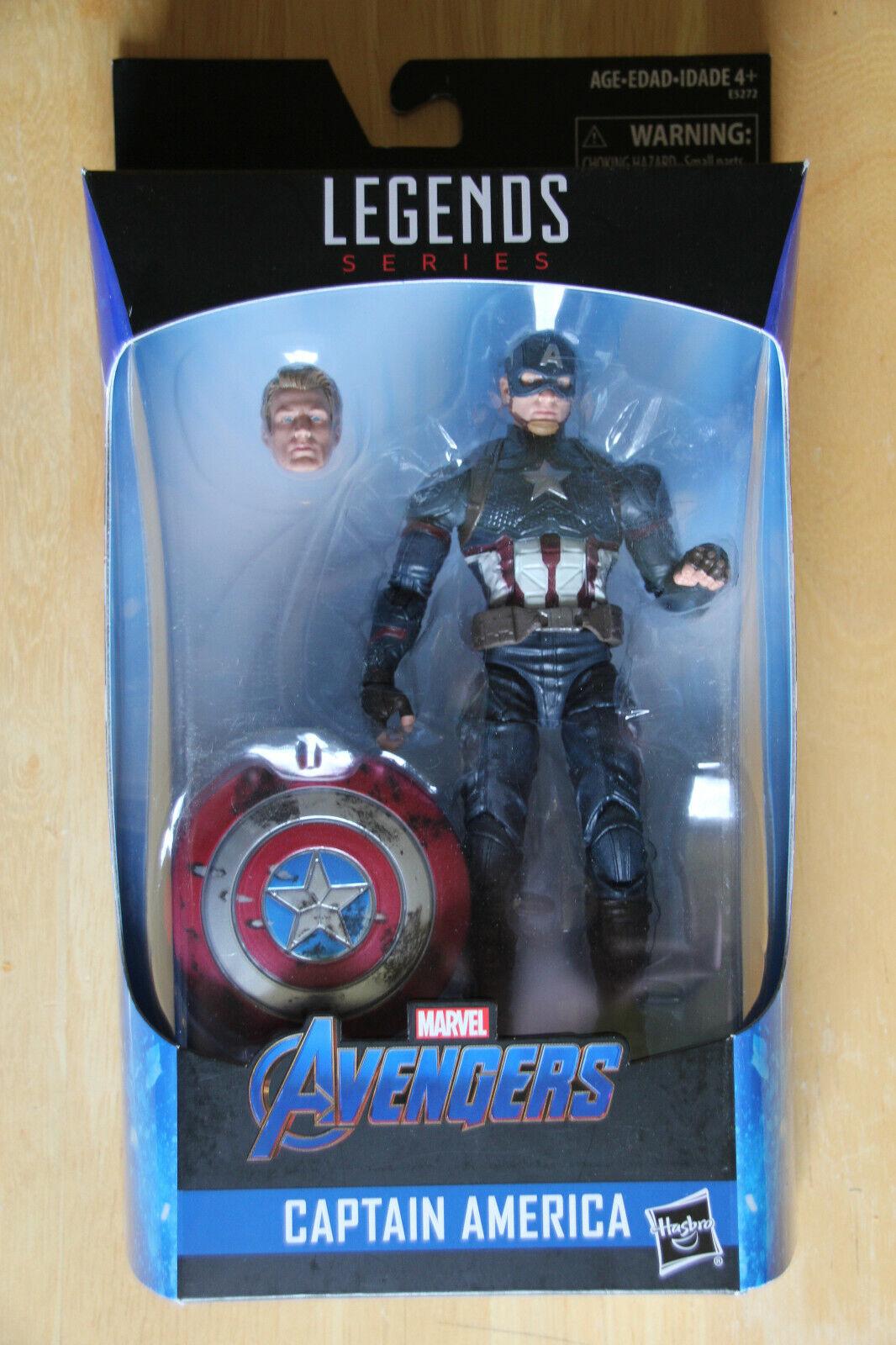 Marvel Legends Avengers Endgame Worthy Captain America Walmart Exclusive NEW
