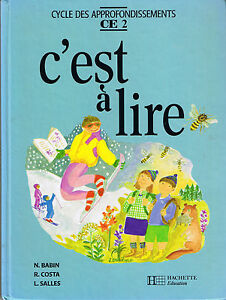 Details Sur C Est A Lire Manuel Scolaire Ce2 Cours Elementaire Hachette Livre Scol Francais