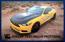 Prospekt brochure Datenkarte Ford Mustang Shelby Terlingua (USA)