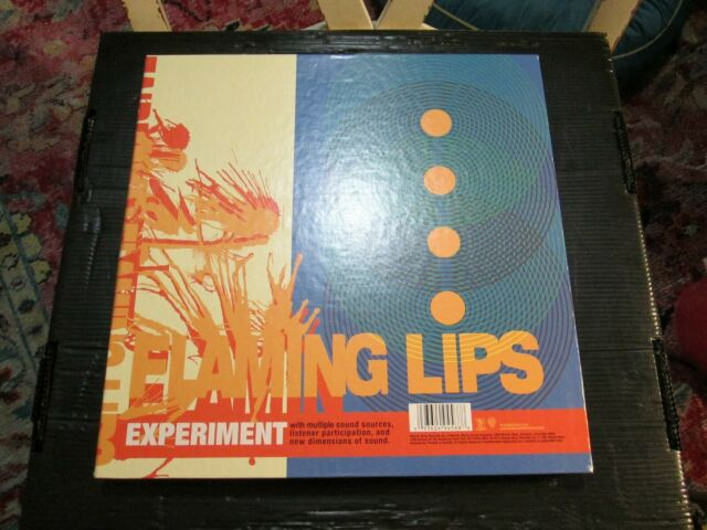 Flaming Lips Zaireeka 4 Lp Box Set Colored Vinyl Rsd