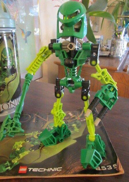 Lego Bionicle Technic 8535 Toa Lewa Figure Instructions No Canister