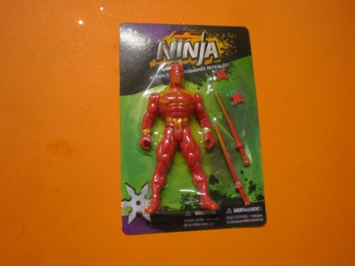 Ninja Action Figures Toy Red color or black Gigures New
