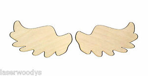 Angelic-Wings-Unfinished-Wood-Shape-Cut-Out-AW4338-Crafts-Lindahl-Woodcrafts