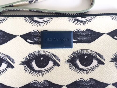 Bimba Lola Special Bag Eye Print Lips Neceser Clutch And amp; rTq5Hwr