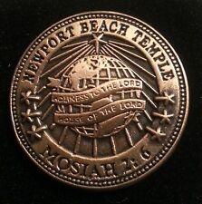 "NEWPORT BEACH TEMPLE ""Mosiah 2:6"" Lapel Pin mormon lds"