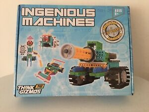 Think Gizmos Build Your Own Robot Toys For Kids Ingenious Machines