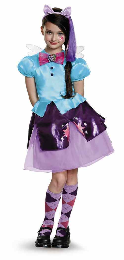 My Little Pony - Twilight Sparkle Equestria Fancy Dress Up Halloween Child Costume