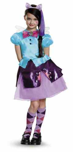 Twilight Sparkle Equestria My Little Pony Fancy Dress Up Halloween Child Costume