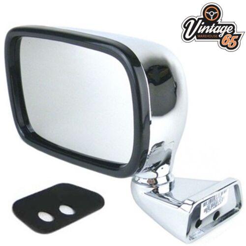 Classic Austin Mini Original Style Custom Fit Chrome Door Mirrors Pair LH RH
