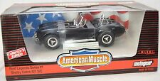 American Muscle Shelby Cobra 427 S/c Legends Series MotoGear Diecast Car 1 18