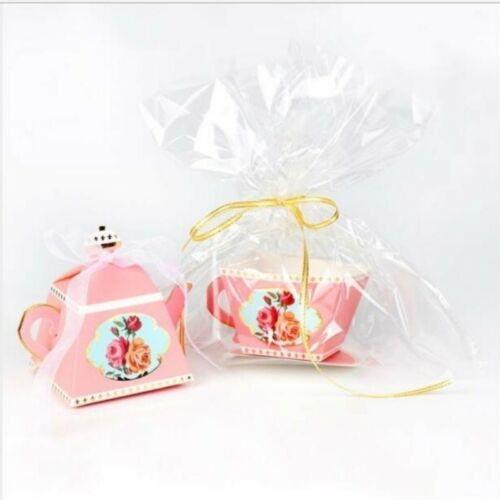 20*Candy Boxes Tea Party Favors Wedding Gifts for Guests Baby Shower Sweets box