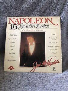 LP - Napoleon - 15 Grandes Exitos - TRL-1503