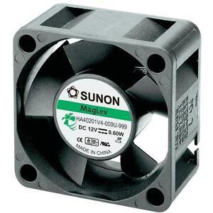 Sunon-DC-Brushless-Fan-40mm-x-10mm-12V-DC-Fan-EB40101S2-000U-999