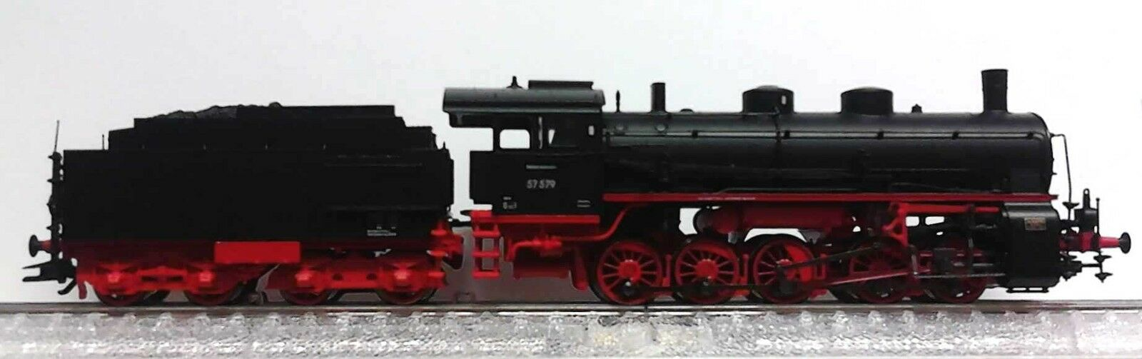 Märklin HO 39552 TRENO MERCI-Locomotiva BR 57.5 DB MFX PLUS SOUND NUOVO 2015