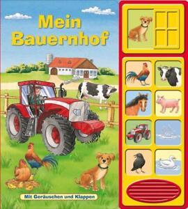 Mein-Bauernhof-Klappen-Geraeusche-Buch-Klappenbuch-mit-Soundeffekten-2015-Ge
