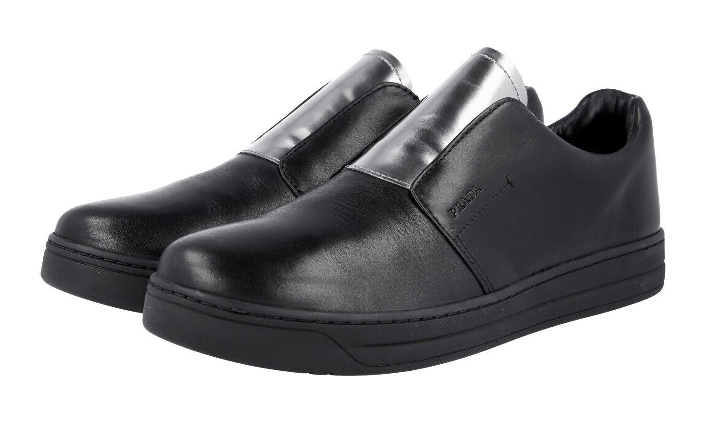shoes PRADA LUSSO 3S6047 black CHROMO NUOVE 38,5 39