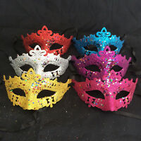 New Venetian Women Eye Mask Masquerade Party Dress Carnival Fancy Ball Costome