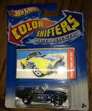 Hot Wheels Color Shifters Water Revealers Shelby Cobra 427 S/C 2012 66